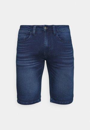 COMMERCIALKEN - Denim shorts - blue