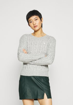 CABLE ICON MOOSE CREW - Jumper - gray