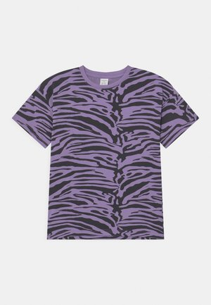 MINI ZEBRA UNISEX - T-shirt print - light dusty lilac