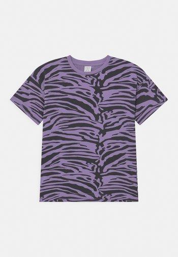 MINI ZEBRA UNISEX - T-shirt print - light dusty lilac