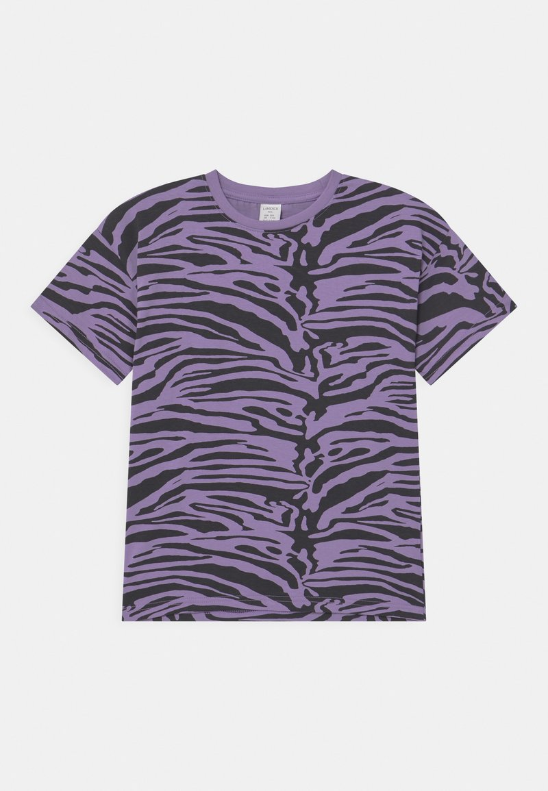 Lindex - MINI ZEBRA UNISEX - T-shirt print - light dusty lilac
