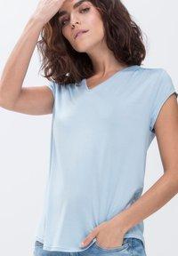 mey - Basic T-shirt - air blue - 0