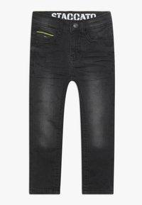 Staccato - KID - Jeans Skinny Fit - black denim - 0