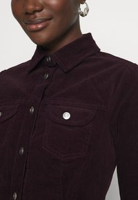 Dorothy Perkins - STRUCTURED SHIRT DRESS - Shirt dress - purple - 5