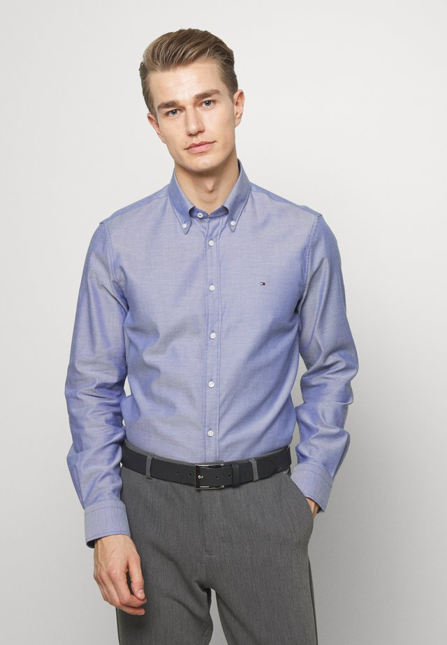 OXFORD BUTTON DOWN SLIM - Camicia elegante - blue