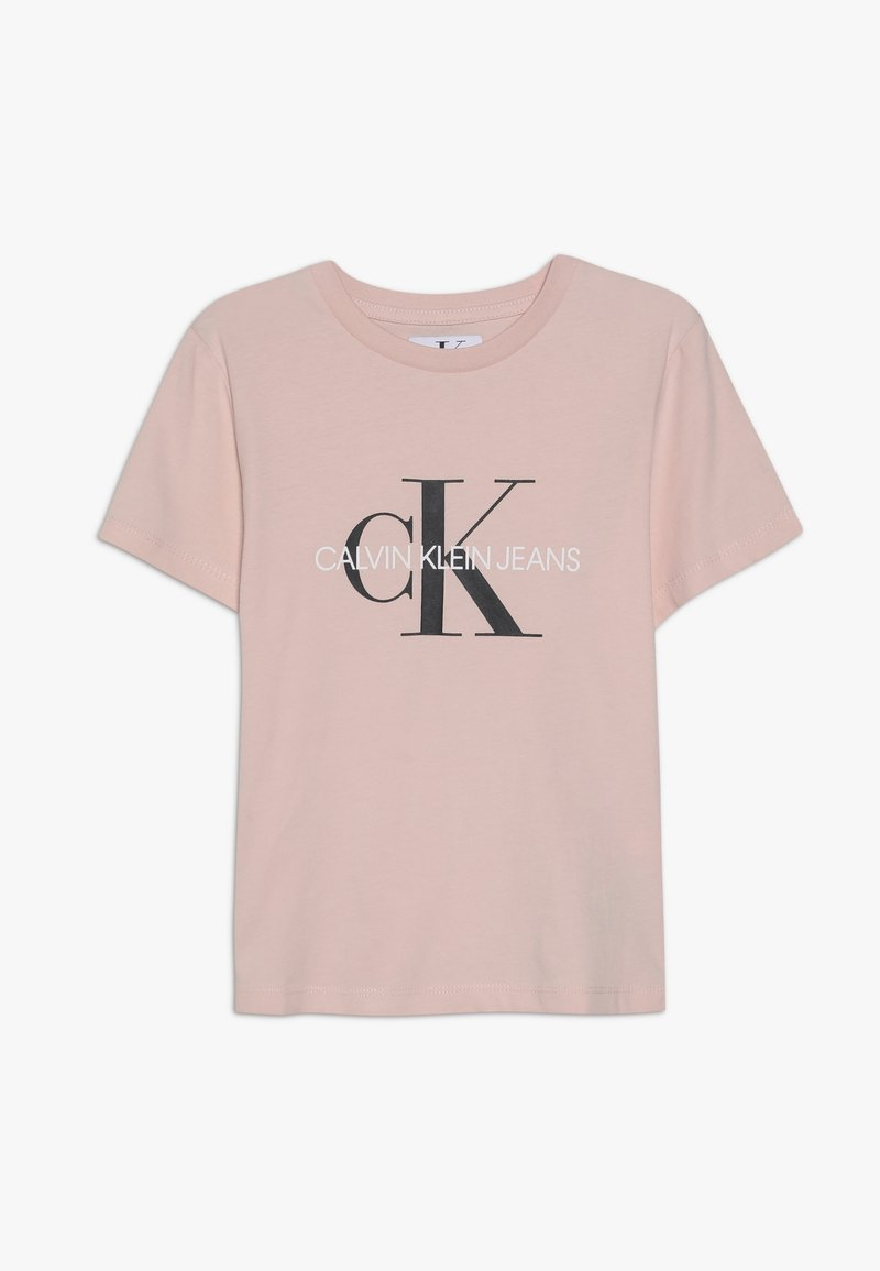 Calvin Klein Jeans - MONOGRAM  - Triko spotiskem - pink