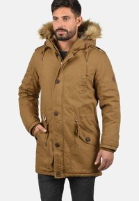 Solid - WINTERJACKE CLARKI TEDDY - Winter coat - light brown - 0