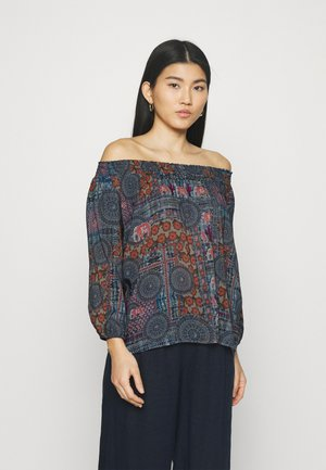KALIMA - Long sleeved top - blue
