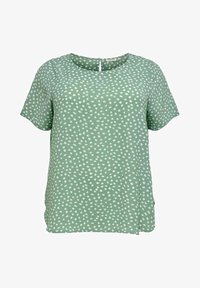 ONLY Carmakoma - CARLUXINA - Print T-shirt - chinois green - 3