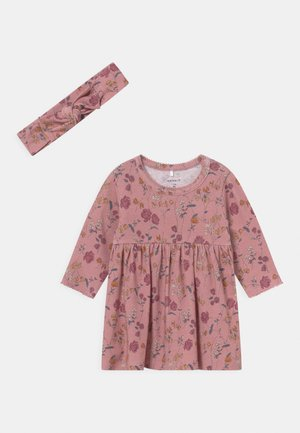 NBFLOVE DRESS - Jersey dress - pale mauve