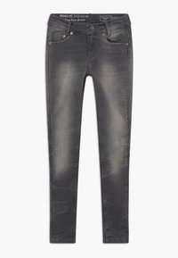 Blue Effect - GIRLS  - Jeans Skinny Fit - black denim - 0