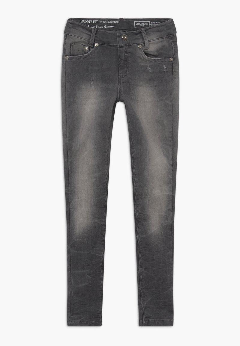 Blue Effect - GIRLS  - Jeans Skinny Fit - black denim