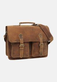 Gusti Leder - Briefcase - brown - 2
