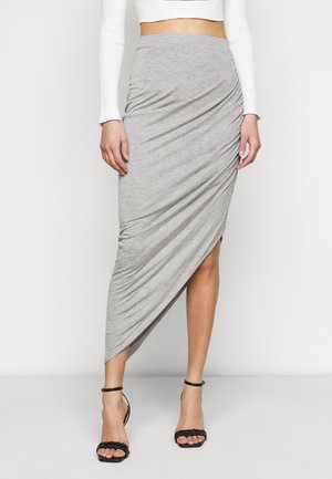 ONLRIKKA SKIRT  - A-line skirt - light grey