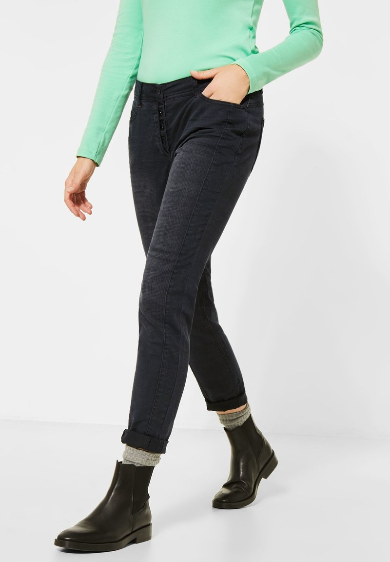 Cecil - Relaxed fit jeans - grau