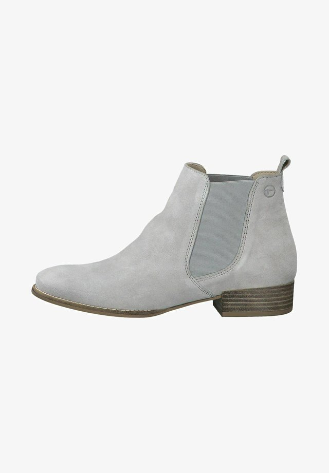 Boots à talons - light grey