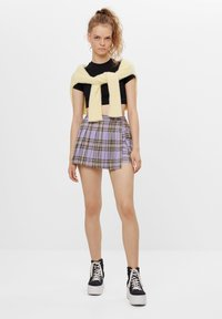Bershka - Wrap skirt - mauve - 1