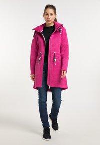 ICEBOUND - Krátký kabát - pink melange - 1