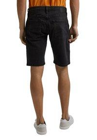 edc by Esprit - Denim shorts - black dark washed - 5