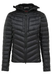 BROAD PEAK IN HOODED - Down jacket - black/phantom