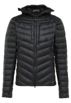 BROAD PEAK IN HOODED - Down jacket - black/phantom