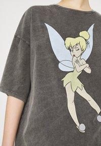 Even&Odd - Print T-shirt - anthracite - 5