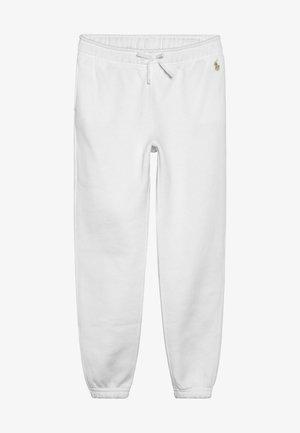 BOTTOMS PANT - Pantalones deportivos - white