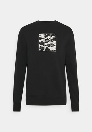 SHIFT GRAPHIC UNISEX - Sweatshirt - black