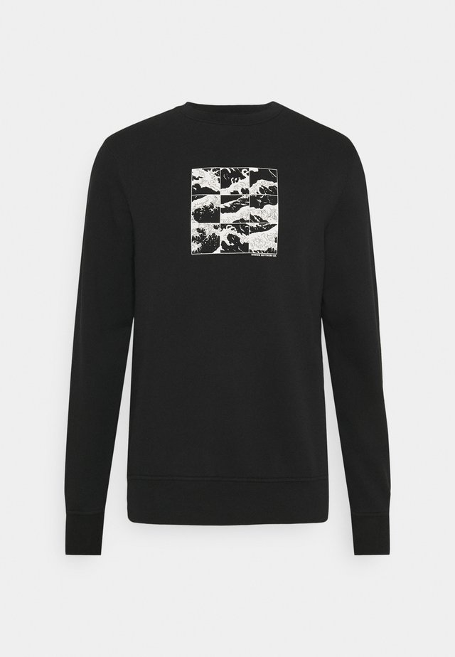 SHIFT GRAPHIC UNISEX - Felpa - black