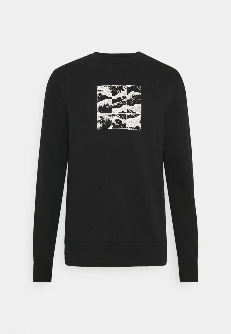 WAWWA - SHIFT GRAPHIC UNISEX - Sweatshirt - black
