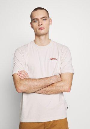 RENNIE RETRO FIT TEE - T-shirt z nadrukiem - moonbeam