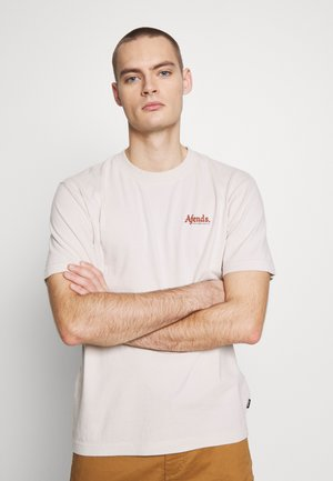 RENNIE RETRO FIT TEE - T-shirt print - moonbeam