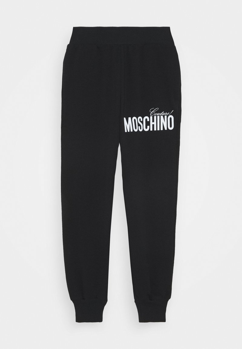 MOSCHINO - Tracksuit bottoms - black