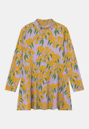 ALPINE FLOWERS HIGH NECK DRESS - Jersey dress - purple