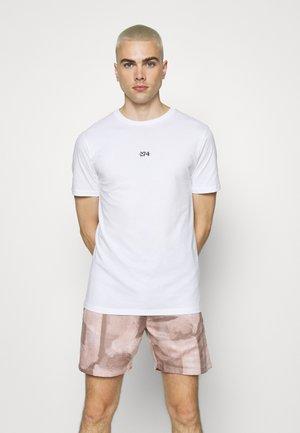 ROSE BACK - T-shirt print - white