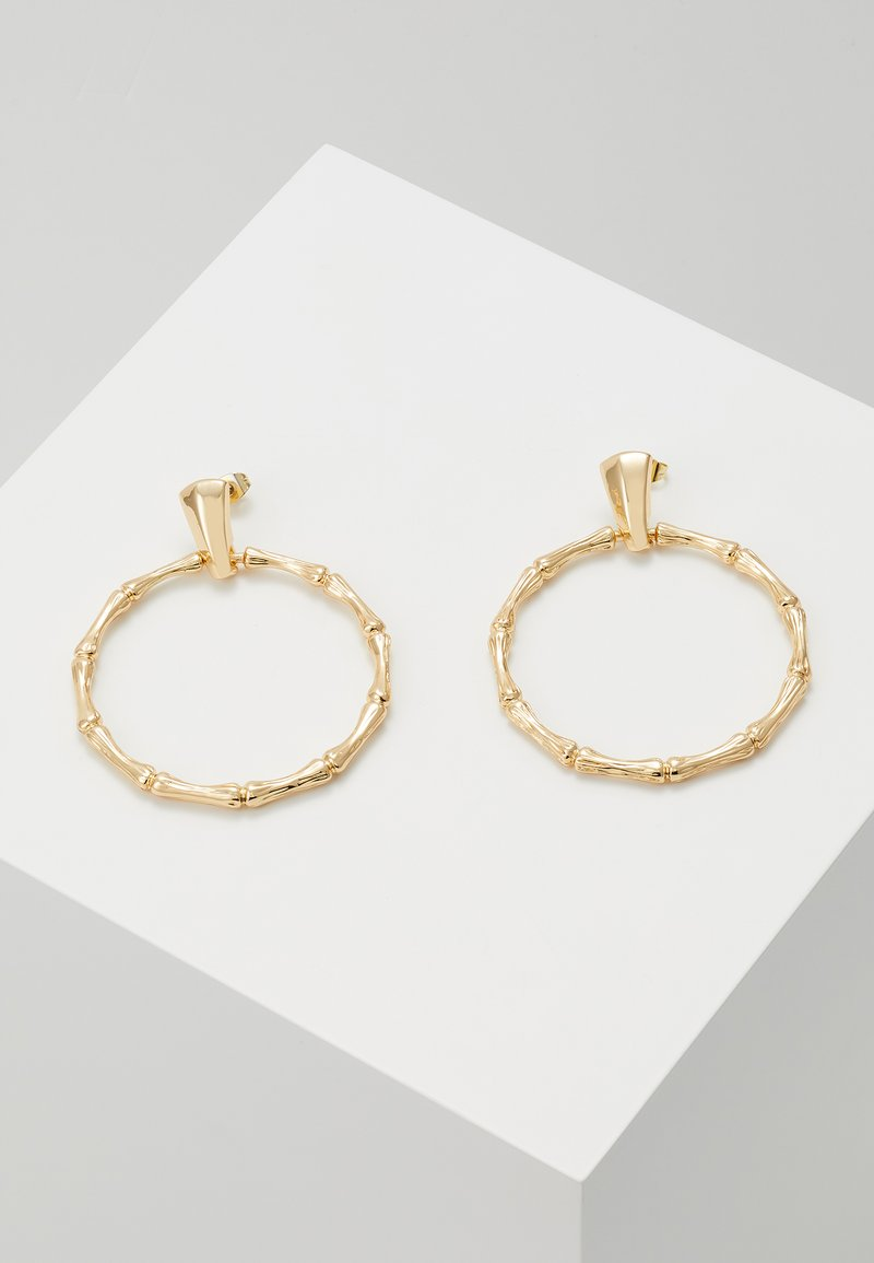 Pieces - Earrings - gold-coloured