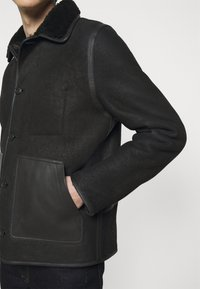 PS Paul Smith - JACKET - Leather jacket - black - 5