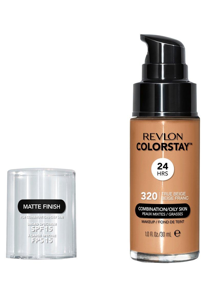 Revlon - COLORSTAY MAKE-UP FOUNDATION FOR OILY/COMBINATION SKIN - Foundation - N°320 true beige