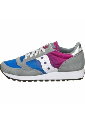 SCHUHE JAZZ - Matalavartiset tennarit - gray/blue/pink