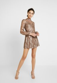 Love Triangle - SCATTERED JEWELS - Cocktail dress / Party dress - bronze - 2