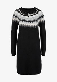 s.Oliver - MIT NORWEGERMUSTER - Jumper dress - black - 4