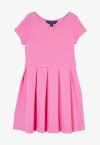 Polo Ralph Lauren - SOLID DRESSES - Žerzejové šaty - baja pink - 2