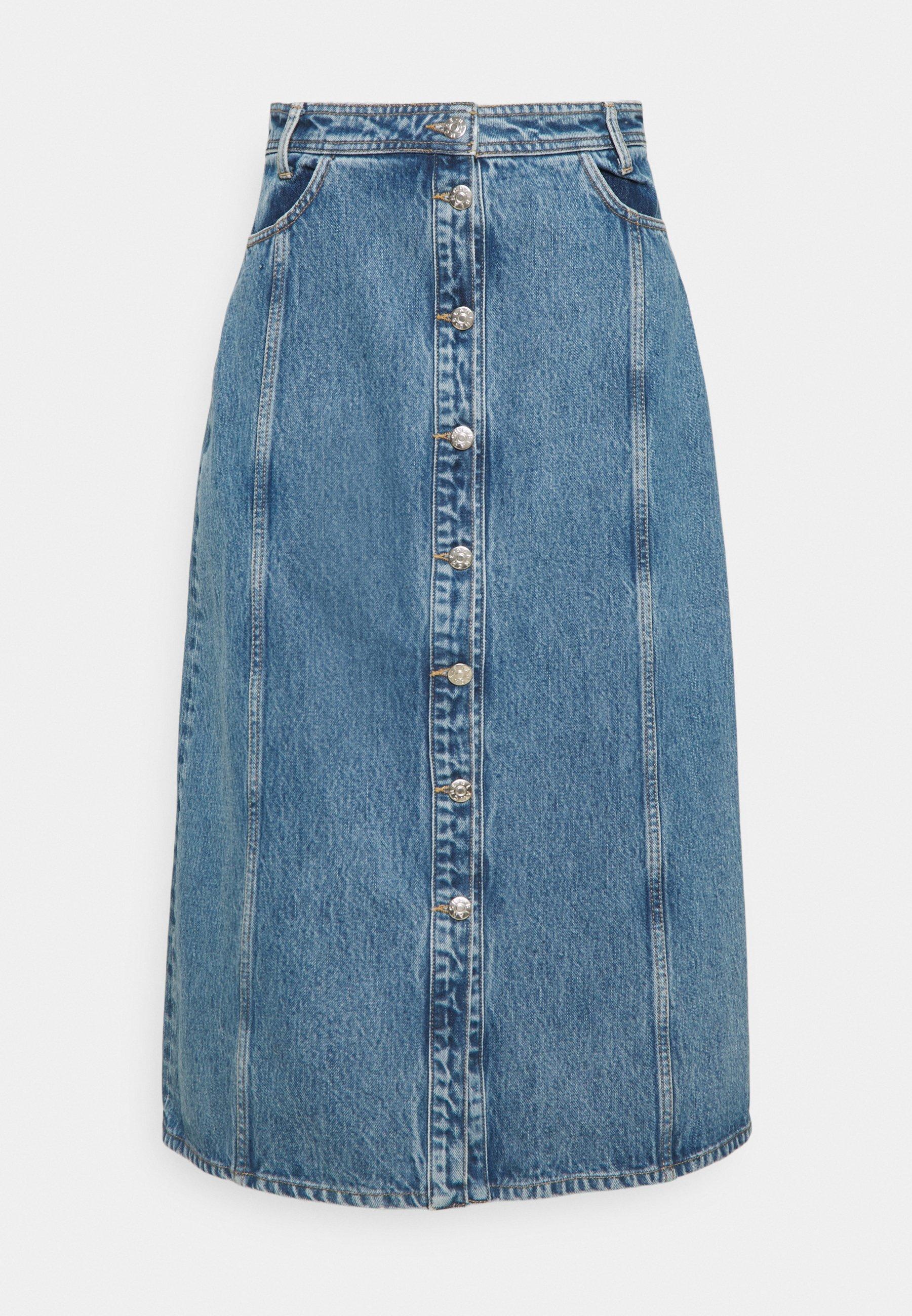Femme ADRIAN SKIRT - Jupe en jean