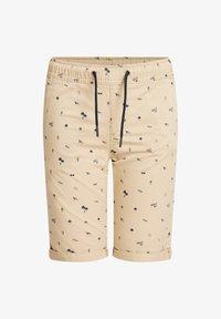 WE Fashion - MET PRINT - Shorts - beige - 0