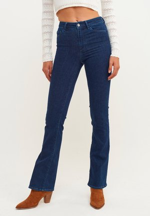 Bootcut jeans - mid denim