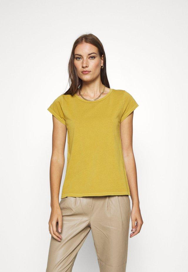 LISS - T-shirt basic - honey ginger