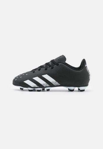 PREDATOR FREAK .4 FXG UNISEX - Moulded stud football boots - core black/footwear white