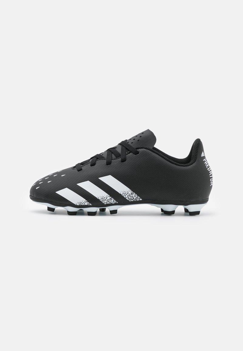 adidas Performance - PREDATOR FREAK .4 FXG UNISEX - Korki Lanki - core black/footwear white