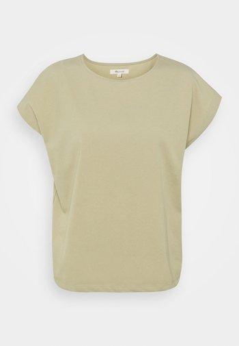 IRONWOOD SQUARE TEE - T-shirts - ash green