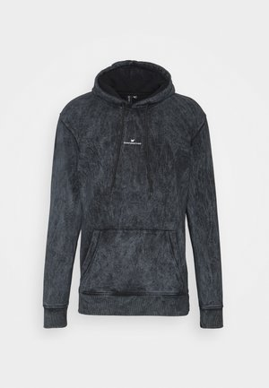 FITTED WASHED HOOD - Hoodie - grey